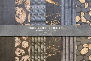 Oxidized Elements Gold & Watercolor