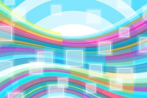Abstract background. Social Networks