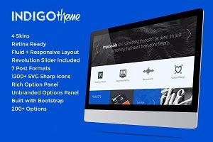 Indigo - Creative/Fluid WordPress Th