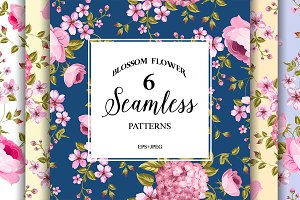 Luxurious peony patterns.