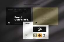 Brand Guidelines by  in Templates