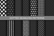 Dotted Seamless Patterns.