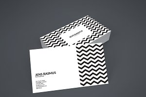 Jens Rasmus Business Card Template