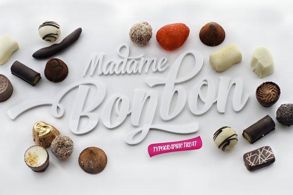 Bonbon Script Family Sale -15% off!…