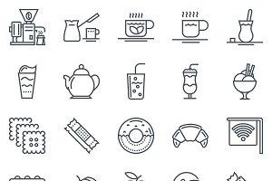 40 Coffee theme icons