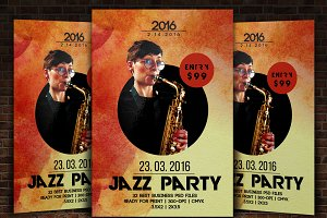 Jazz Flyer Poster Template