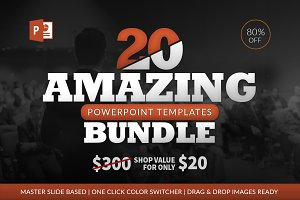 20 Amazing Powerpoint Bundle