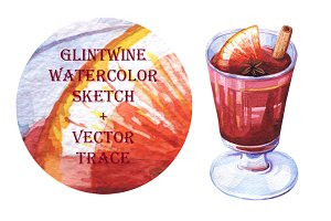 Glintwine Watercolor Sketch
