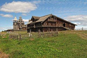 The house of a Karelian farmer