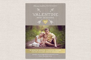 Valentine Mini Session Flyer