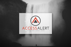 [68% off] Access Alert - Logo Design