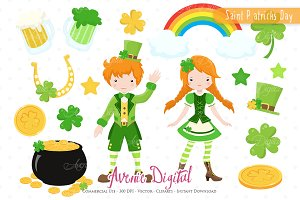 Saint Patricks Day Clipart - Vectors