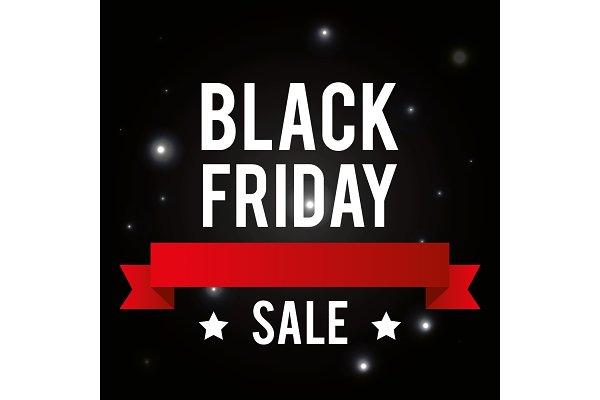 Black Friday Promotion Label Pre Designed Vector Graphics Creative Market