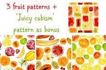Juicy hand-drawn patterns