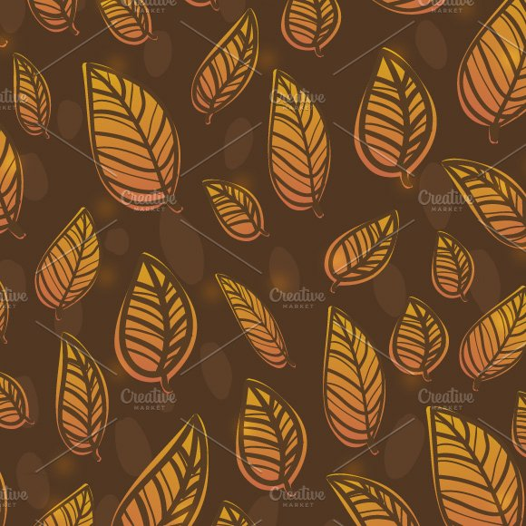 Autumn pattern in Graphics