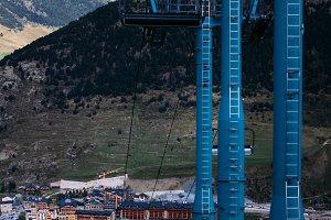 Andorra mountain lift