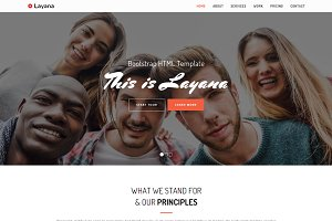 Layana - HTML One Page Template