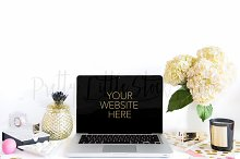 #112 PLSP Styled Laptop Stock Photo