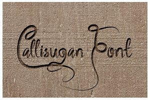 Callisugan Font
