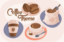 4 Coffee Theme Icons