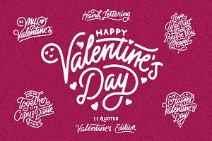 Valentine's Day - Hand Lettering