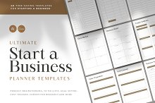 Ultimate Business Planner Templates