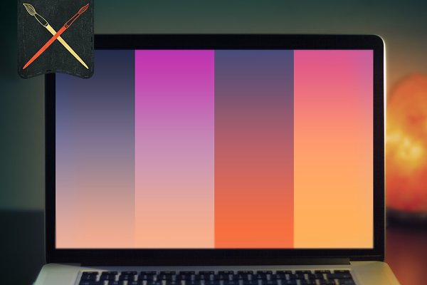 Photoshop Gradients: Creative Supplies Co. - Sunsets&Sunrises Gradients