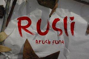 Rusli Font