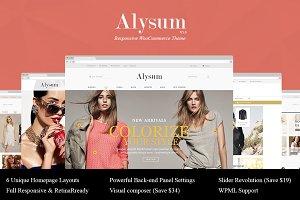 Alysum-Responsive WooCommerce Theme