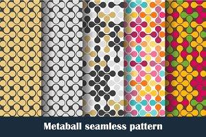 Metaball seamless pattern