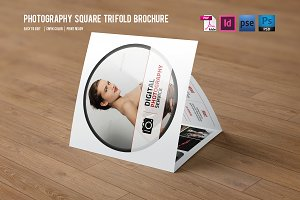 Trifold Photography Brochure-V354
