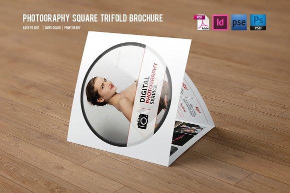 Trifold Photography Brochure-V354