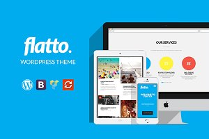 Flatto - Creative WordPress theme