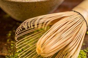 Bamboo whisk