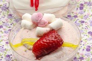 crema de frutas