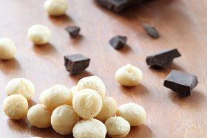 Macadamia Nuts and Chocolate pieces