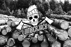Lumberjack Typographic Elements
