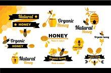 10 Logos honey&bee