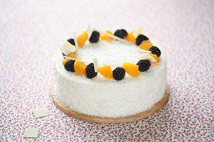 Coconut & Marshmallow Cake