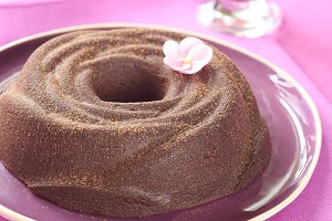 Chocolate Baked Pudding