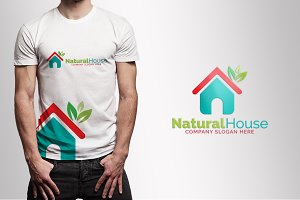 Natural & Green House Logo