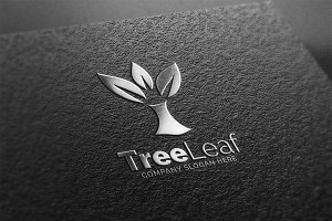 Tree Leaf Logo
