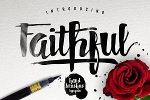 Faithful Typeface Stunning Script Fonts Creative Market