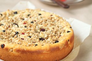Rustic Fruit Cake