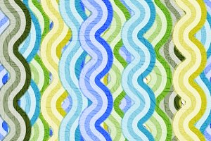 Grunge background of colored stripes