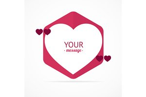 Valentine Card. Vector