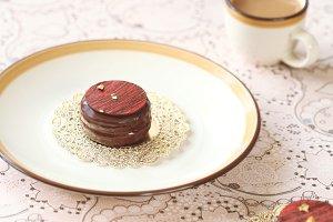 Chocorons - Macarons in chocolate