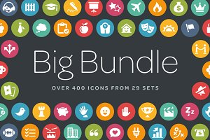 Circle Icons Bundle