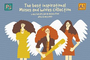 Muses and wives collection