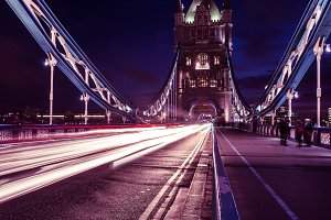 Tower Bridge Lights, London